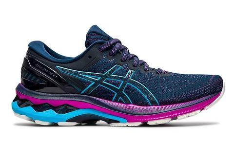 Asics Gel Kayano 27 беговые кроссовки женские синие