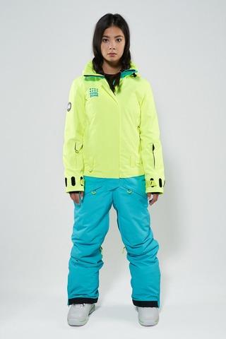 COOL ZONE Twin сноубордический комбинезон женский салат-бирюза