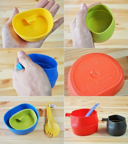 Wildo Fold-A-Cup походная складная кружка lemon