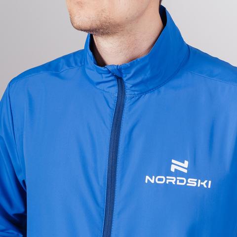 Nordski Motion куртка ветровка мужская Vasilek/Dark blue