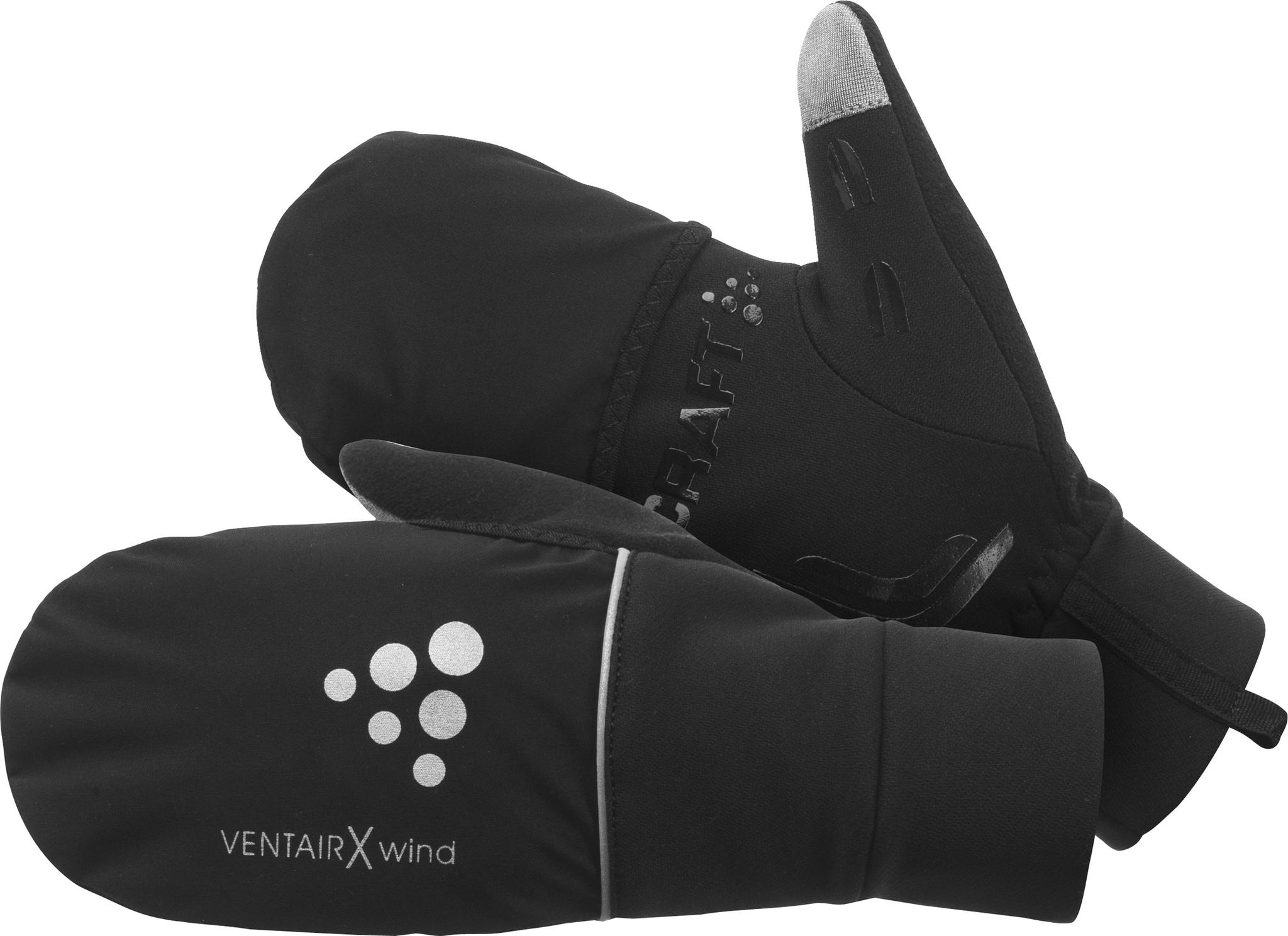 Перчатки Craft Hybrid Weather чёрные