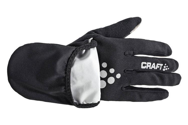 Перчатки Craft Hybrid Weather чёрные - 2