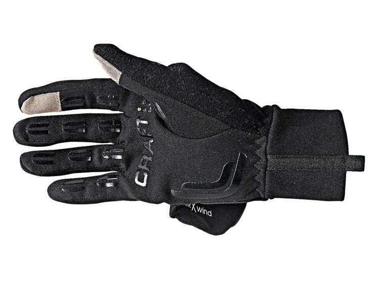 Перчатки Craft Hybrid Weather чёрные - 3