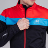 Nordski Drive лыжная куртка мужская black-red - 4