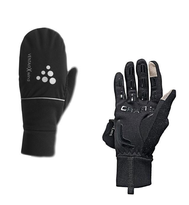 Перчатки Craft Hybrid Weather чёрные - 4