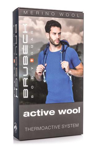 BRUBECK ACTIVE WOOL мужской комплект термобелья