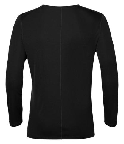 Asics Silver мужская беговая рубашка черная