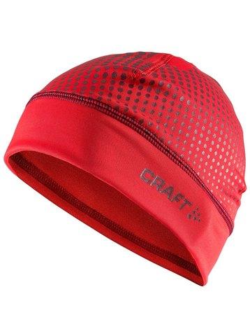 Craft Livigno Printed лыжная шапка красная