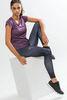 Craft Eaze SS Melange женская спортивная футболка  сиреневая - 4