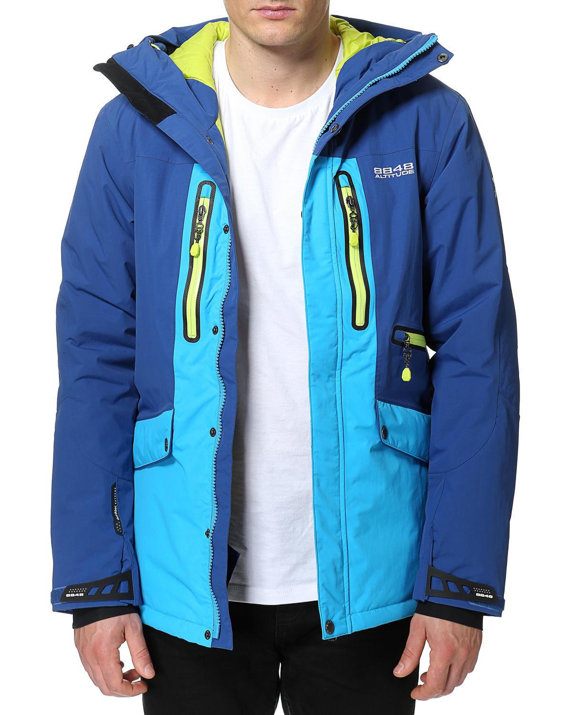 Горнолыжная Куртка 8848 Altitude LEDGE  мужская BERLINER  BLUE - 3