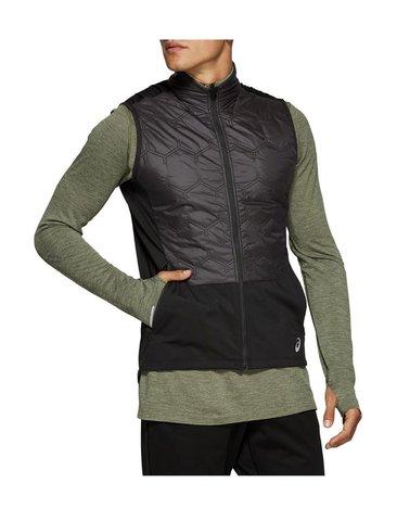 Asics Winter Vest утепленный беговой жилет мужской черный