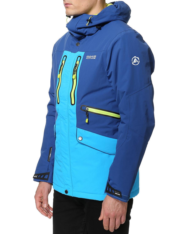 Горнолыжная Куртка 8848 Altitude LEDGE  мужская BERLINER  BLUE - 4