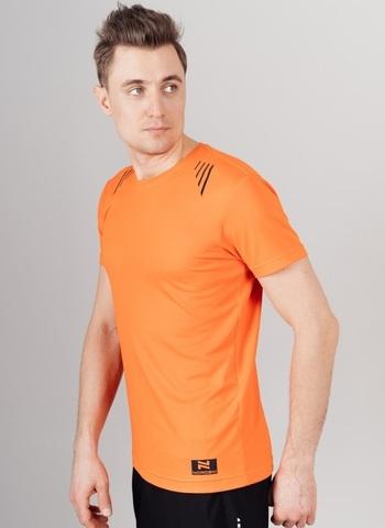 Nordski Run футболка для бега мужская orange