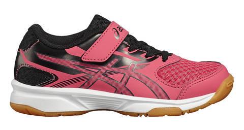 Asics Upcourt 2 PS кроссовки волейбольные детские розовые-черные