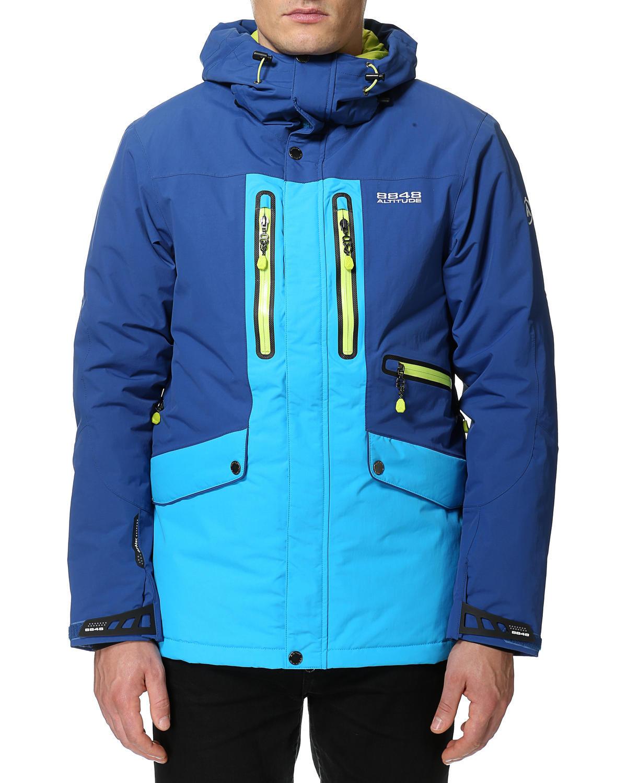 Горнолыжная Куртка 8848 Altitude LEDGE  мужская BERLINER  BLUE - 8
