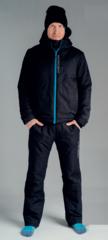 Nordski Montana прогулочный костюм мужской черный