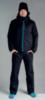 Nordski Montana зимний лыжный костюм мужской черный - 1