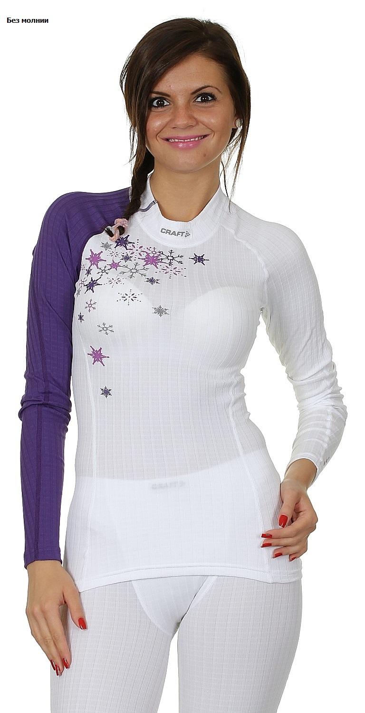 Термобелье Рубашка Craft Active Extreme женская фиолетовая - 4