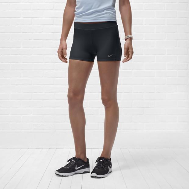 Шорты л/а Nike Tempo Boy Short (W) тёмно-серые - 3