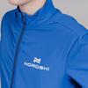 Nordski Jr Motion куртка для бега детская Vasilek-Dark blue - 4