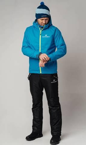 Nordski Motion утепленный лыжный костюм мужской blue