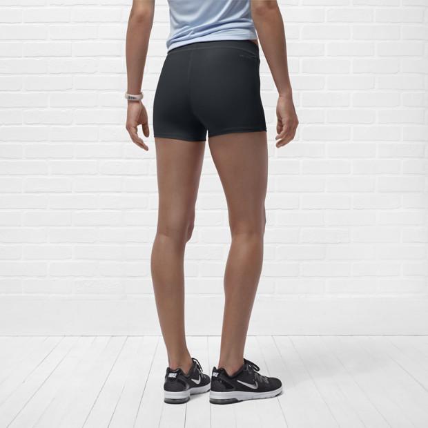 Шорты л/а Nike Tempo Boy Short (W) тёмно-серые - 4
