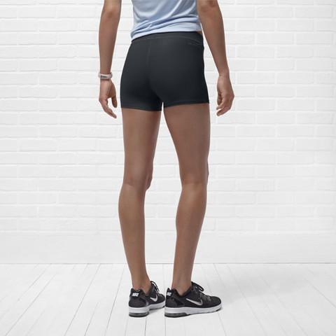 Шорты л/а Nike Tempo Boy Short (W) тёмно-серые