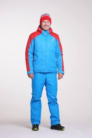Nordski National мужской прогулочный костюм голубой
