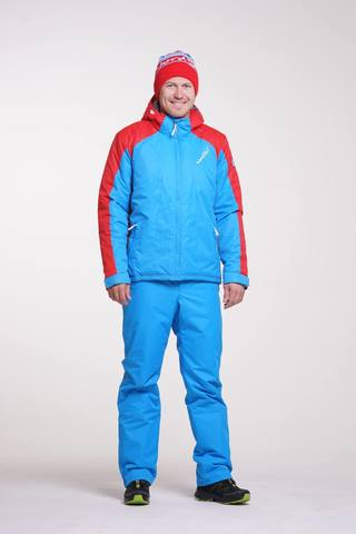 Nordski National мужской утепленный лыжный костюм голубой