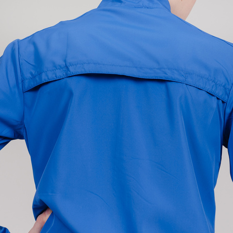 Nordski Jr Motion куртка для бега детская Vasilek-Dark blue
