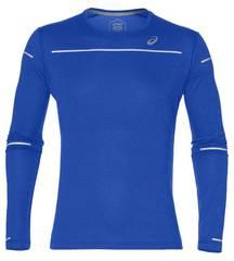 Asics Lite Show Ls Top рубашка беговая мужская синяя