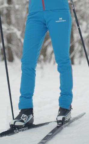 Nordski Elite RUS разминочные лыжные брюки женские