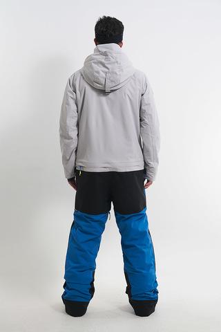Cool Zone CODE сноубордический комбинезон мужской холодный серый-темно-синий