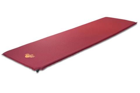 Alexika Travel 66 самонадувающийся коврик burgundy red