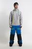 Cool Zone CODE сноубордический комбинезон мужской холодный серый-темно-синий - 1