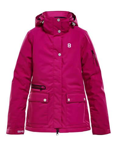 Горнолыжная куртка для девочек 8848 Altitude Molly fuchsia