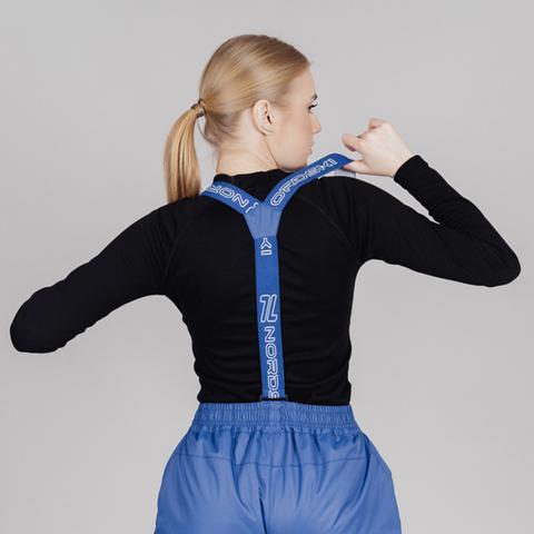 Nordski Premium утепленные лыжные брюки женские true blue