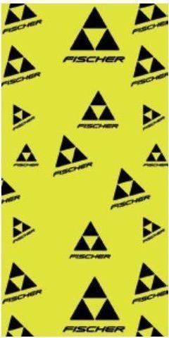 Fischer Logo многофункциональная бандана желтая