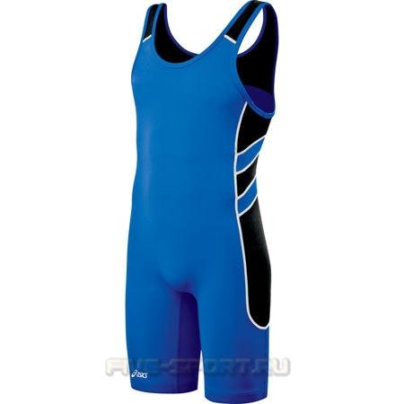 Asics Wrestling Singlet Трико борцовское d-blue