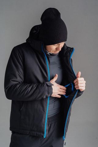 Nordski Montana зимний лыжный костюм мужской черный