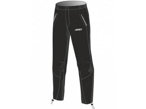 KV+ Siberia утепленные разминочные брюки детские black