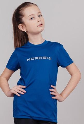 Nordski Jr Logo Run комлпект для бега детский navy
