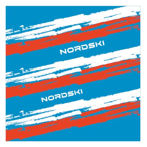 Nordski Stripe многофункциональный баф blue-red