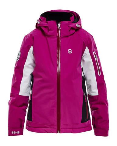 Горнолыжная куртка для девочек 8848 Altitude Harper fuchsia
