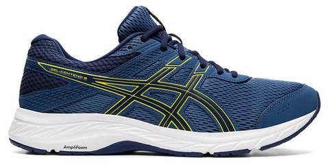 Asics Gel Contend 6 кроссовки для бега мужские синие