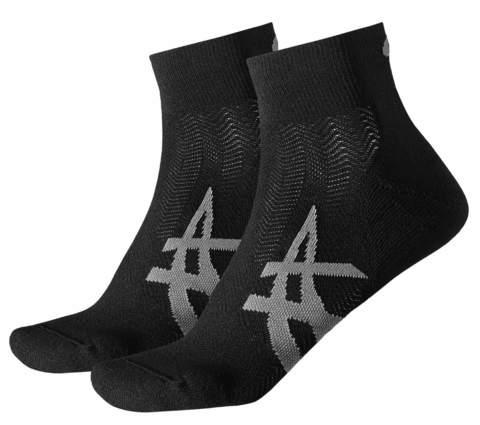 ASICS CUSHIONING SOCK беговые носки черные