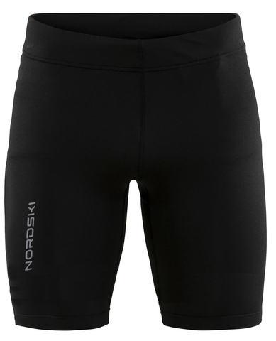 Nordski Premium Run шорты обтягивающие мужские black