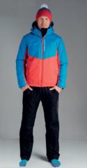 Nordski Montana Rus прогулочный костюм мужской синий-красный