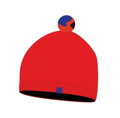 Nordski Sport лыжная шапка красная