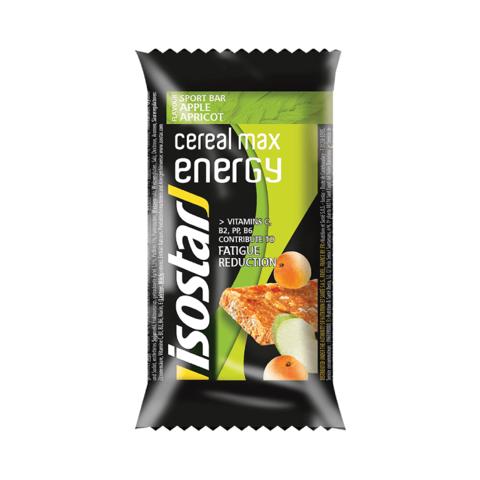Isostar Cereal Max Energy энергетический батончик яблоко-абрикос